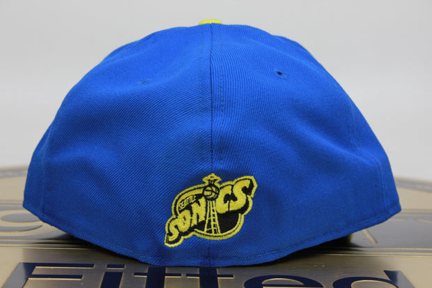 SEATTLE SONICS / SUPERSONICS AIR JORDAN 5 LANEY NEW ERA 59FIFTY FITTED HAT