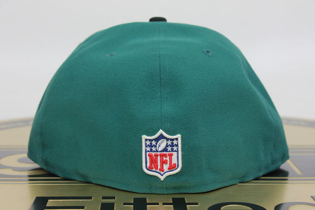 PHILADELPHIA EAGLES 2 TONE ON FIELD NE TECH NEW ERA 59FIFTY FITTED HAT