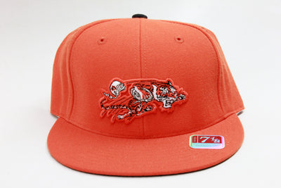 CINCINNATI BENGALS ORANGE MITCHELL & NESS FITTED HAT
