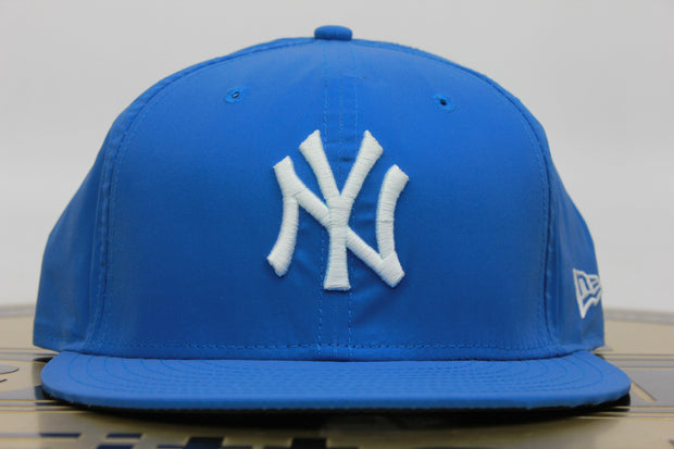 NEW YORK YANKEES BLUE REFLECTIVE NEW ERA 59FIFTY FITTED HAT
