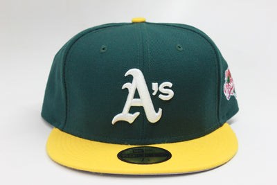 OAKLAND ATHLETICS 1989 WORLD SERIES NEW ERA FITTED CAP