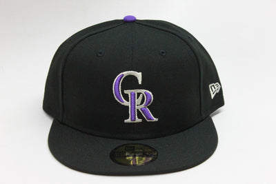 COLORADO ROCKIES ON-FIELD NE FLAG NEW ERA 59FIFTY FITTED HAT