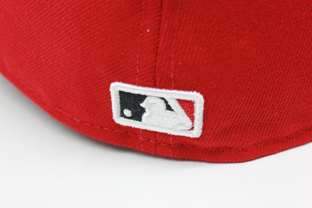 CINCINNATI REDS ON-FIELD NE FLAG NEW ERA 59FIFTY FITTED CAP