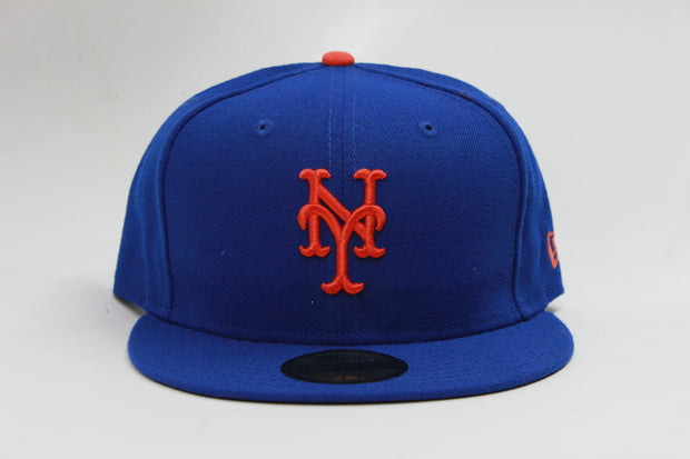 NEW YORK METS ON-FIELD NE FLAG NEW ERA 59FIFTY FITTED CAP