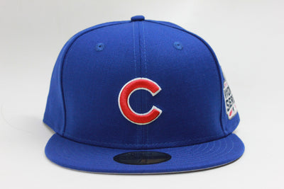 CHICAGO CUBS 2016 MLB WORLD SERIES GAME NEW ERA 59FIFTY FITTED CAP