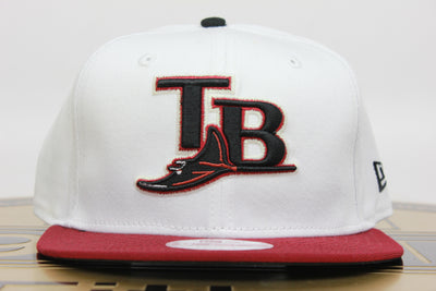TAMPA BAY DEVIL RAYS TB 2 TONE NEW ERA 9FIFTY SNAPBACK HAT