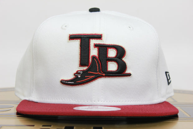 TAMPA BAY DEVIL RAYS 2 TONE NEW ERA 9FIFTY SNAPBACK HAT