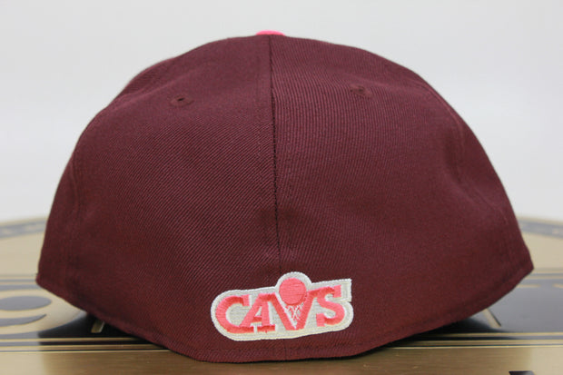 CLEVELAND CAVALIERS LEBRON X CROWN JEWEL NEW ERA 59FIFTY FITTED HAT