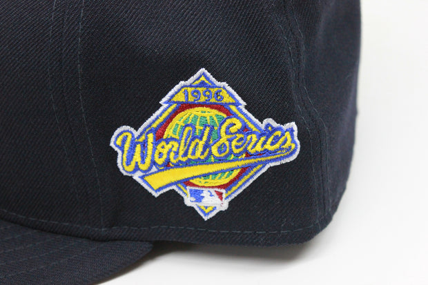 NEW YORK YANKEES 1996 WORLD SERIES NEW ERA FITTED CAP