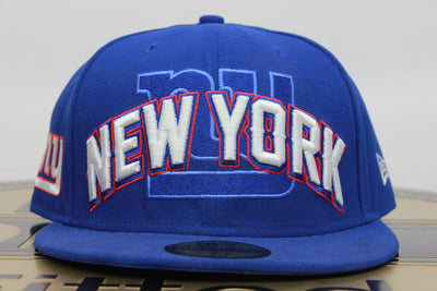 NEW YORK GIANTS NY NEW ERA 59FIFTY FITTED HAT