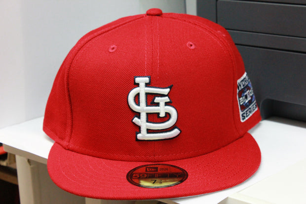 ST. LOUIS CARDINALS 2006 WORLD SERIES NEW ERA 59FIFTY FITTED CAP