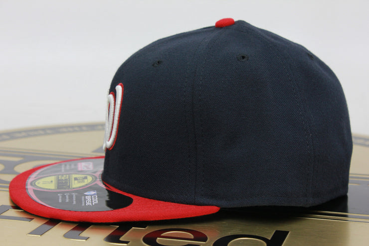 WASHINGTON NATIONALS MADE IN USA NEW ERA 59FIFTY FITTED HAT
