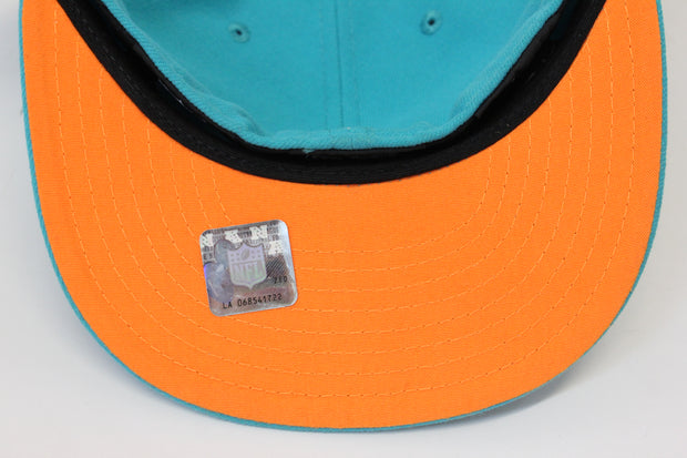 MIAMI DOLPHINS NEW ERA 59FIFTY FITTED CAP