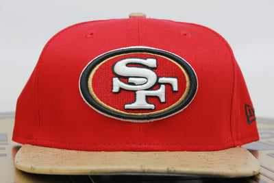 SAN FRANCISCO 49ERS OSTRICH NEW ERA 9FIFTY STRAPBACK HAT