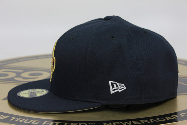 NEW ORLEANS PELICANS INAUGURAL SEASON MADE IN USA NEW ERA 59FIFTY FITTED HAT