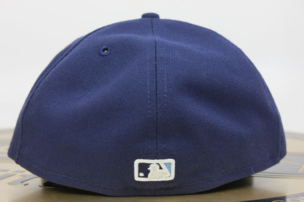 TAMPA BAY RAYS OFFICIAL ON-FIELD NE TECH NEW ERA 59FIFTY FITTED HAT