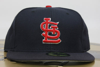 ST. LOUIS CARDINALS NAVY CLASSIC NEW ERA 59FIFTY FITTED HAT