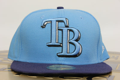 TAMPA BAY RAYS 2 TONE NEW ERA 59FIFTY FITTED HAT