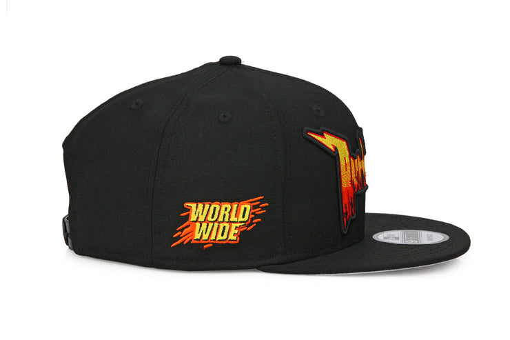 RUTHLESS WORLDWIDE RACING HERITAGE CUSTOM NEW ERA SNAPBACK – My Fitteds 8258aed2a6f