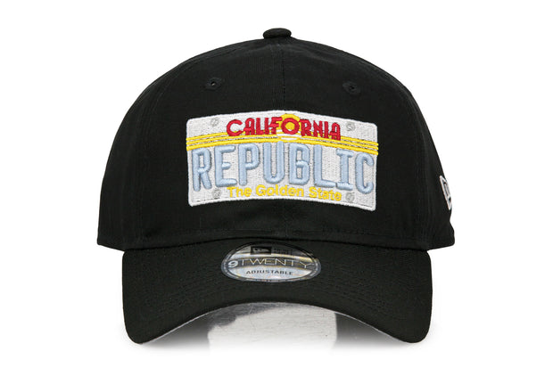 CALIFORNIA REPUBLIC LICENSE PLATE NEW ERA 9TWENTY DAD HAT