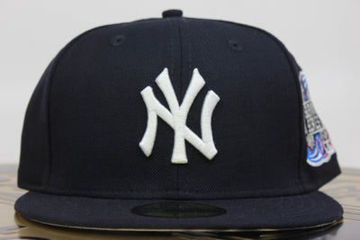 8dc1d3c1ba78a NEW YORK YANKEES 2000 SUBWAY SERIES NAVY NEW ERA 59FIFTY FITTED HAT