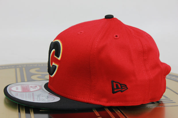CALGARY FLAMES CHANGE SNAP NEW ERA 9FIFTY SNAPBACK HAT