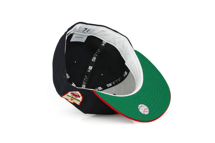 CLEVELAND INDIANS 1948 WORLD SERIES ON-FIELD RETRO NEW ERA HAT