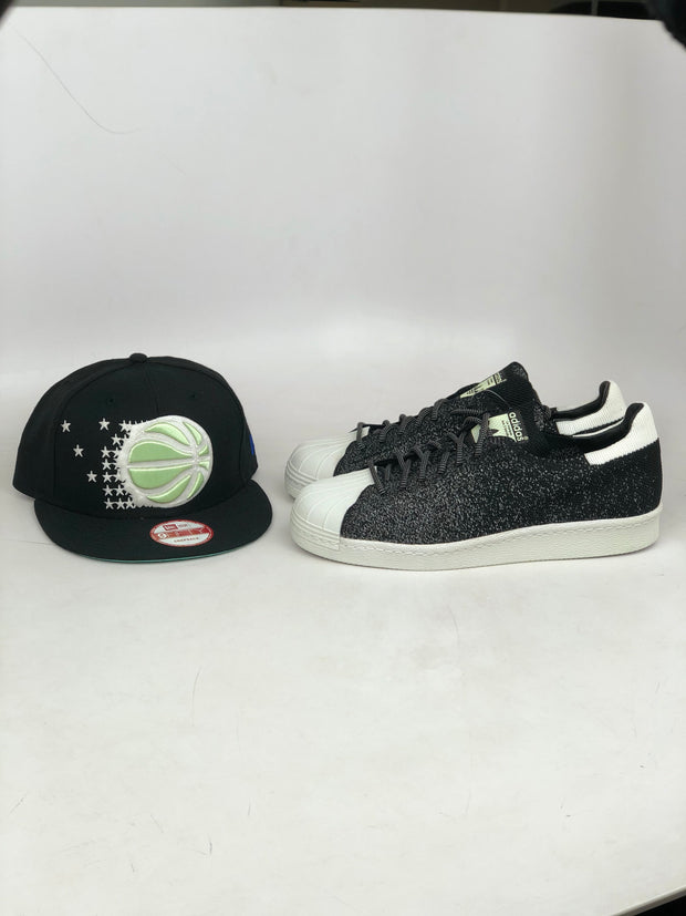 ORLANDO MAGIC ADIDAS ALPHA EDGE 4D GLOW IN THE DARK NEW ERA SNAPBACK