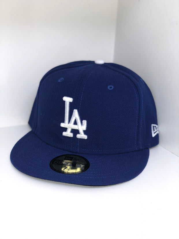 LOS ANGELES DODGERS NE FLAG NEW ERA 59FIFTY FITTED CAP
