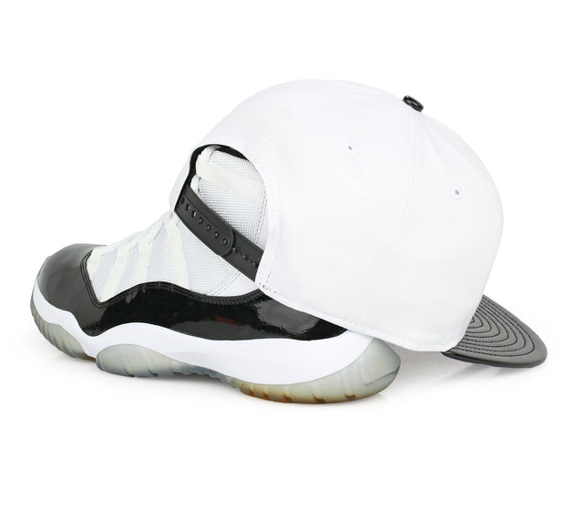 "JAMESTOWN JAMMERS AIR JORDAN XI ""CONCORD"" MATCHING NEW ERA SNAPBACK"