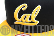 California Golden Bears Navy Argent Gold Pac 12 New Era Snapback