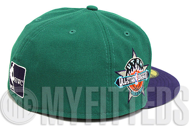 Utah Jazz 1993 NBA All Star Game Side Patch Team Colored New Era Fitted Hat