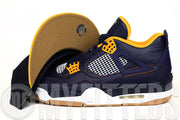"Chicago Bulls Midnight Navy Argent Gold Wheat Toast Air Jordan IV ""A Dunk From Above"" New Era Snapback"