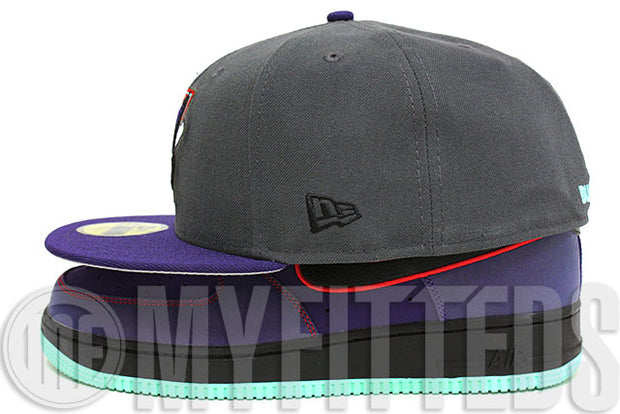 Toronto Blue Jays Carbon Graphite Concord Scarlet Seaglass Terracota Warrior LeBron XI New Era Fitted Hat