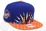 Cleveland Cavaliers 1997 NBA All Star Game Mural Club Royal Orangeade New Era Original Fit Snapback