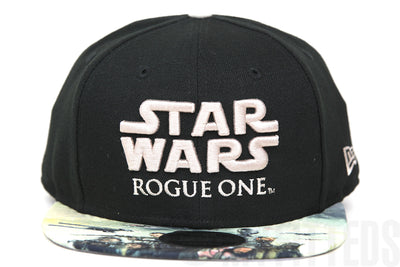 Star Wars Rogue One: A Star Wars Story Hero Snap Jet Black Original Fit New Era Snapback
