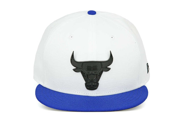 "Chicago Bulls Glacial White Forza Azure Air Jordan XIII ""Hyper Royal"" New Era Hat"