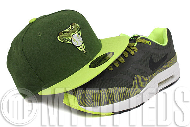 Arizona Diamondbacks Moss Green Lime Voltage Green Gold White New Era Hat
