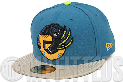 Vancouver Grizzlies Midnight Force Metallic Silver Atomic Orangeade LeBron XII 'Trillion Dollar Man' New Era Hat