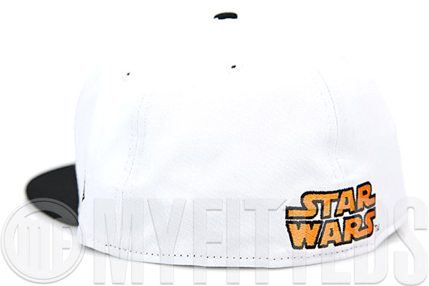 Star Wars Episode VII: The Force Awakens BB-8 Glacial White Jet Black Sour Citrus New Era Hat