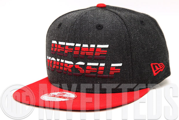 "Toronto 2016 NBA All Star Game ""Define Yourself"" Heathered Carbon Graphite OF New Era Snapback"