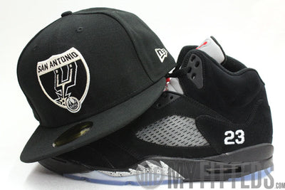 SAN ANTONIO SPURS Road Sign 2 ESPN 59Fifty New Era Fitted Cap