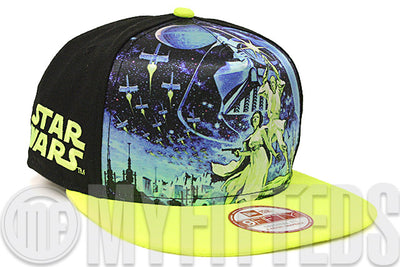 Star Wars Jedi Master Team Stance Jet Black Max Voltage Evolution A-Frame New Era Snapback