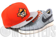 Toronto Blue Jays Orangeade Placid Grey Black Gunmetal AF1 Downtown New Era Hat