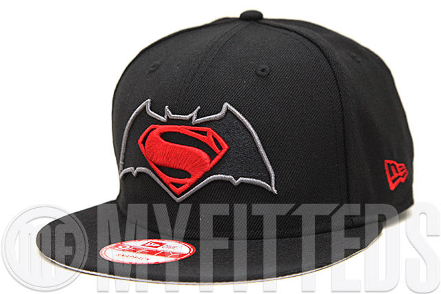 9d0f859f3810ca good batman vs superman dawn of justice jet black garnet fire carbon  graphite custom new era