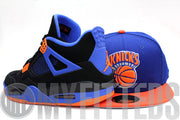 New York Knicks Royal Blue Orangeade Retro Official Team Colors HWC New Era Fitted Cap