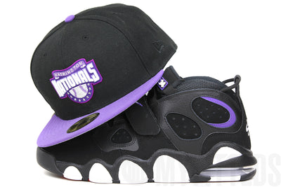 Washington Nationals Jet Black Hyacinth May Nights Air Max CB2 94 Suns New Era Fitted Cap