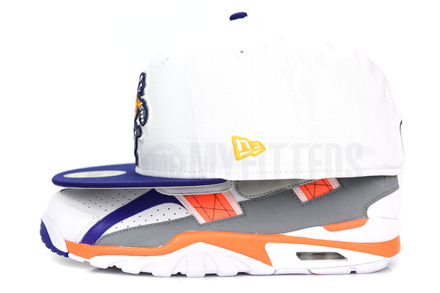 Vancouver Canucks Glacial White Dark Blue Ink Air Trainer SC Zen Grey Bo Jackson New Era Hat
