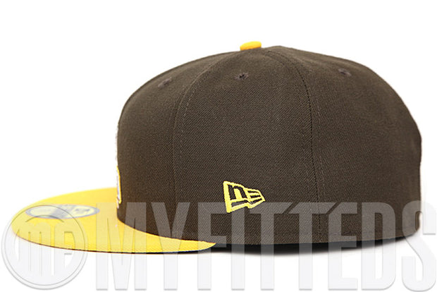 Valparaiso Crusaders Mahogany Argent Gold Glacial White NCAA Team Color New Era Fitted Cap