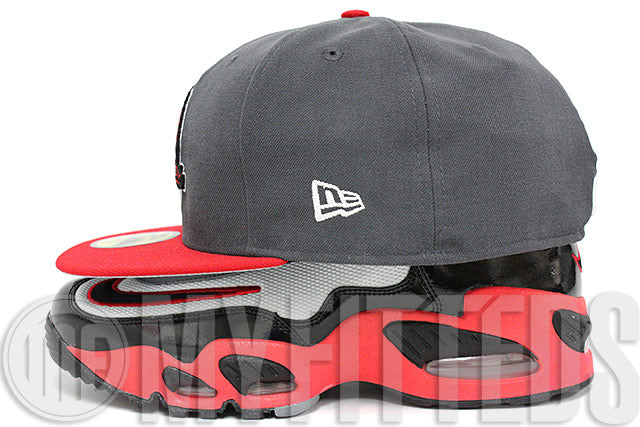 Mobile Baybears Carbon Graphite Grey Garnet Fire Jet Black White MiLB New Era Hat